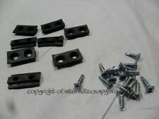 Carl Lewis treadmill MOT C99 Running machine side edge board guides + screws