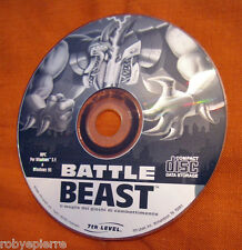 Vendo videogioco vintage PC CD ROM BATTLE BEAST 7th LEVEL 7 RICHARDSON TX 75081