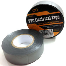 1 x SILVER ELECTRICAL PVC INSULATION  INSULATING TAPE 19mm x 20m FLAME RETARDANT