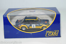 . IXO RALLY CAR FIAT 131 ABARTH RALLYE DE PORTUGAL 1978 ALEN KIVIMAKI MINT BOXED