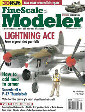 Fine Scale Modeler May 03 P-47 Berlin Marder F-16 Viper B-17 Gunship YB-40 Mud