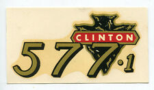 Clinton Engine Chainsaw 577-1 Decal NOS