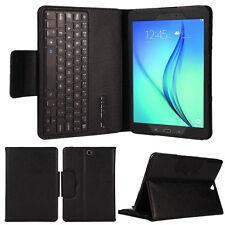 Teclado Bluetooth Funda En Cuero Con Soporte Para Samsung Galaxy Tab A 9.7 T550