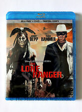 Disney Depp The Lone Ranger Blu Blu-ray DVD Digital Copy English French Spanish
