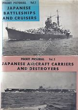 Japanese Battleships and Criusers - Aircraft carriers and destroyers - vol 1- 2