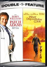 PATCH ADAMS / WHAT DREAMS MAY COME  ROBIN WILLIAMS FILMS DVD R1