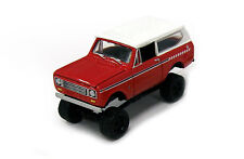 Johnny Lightning / ERTL Collect & Play   1970 International Scout II      red