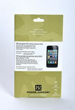 Power Support iPhone 4/4s Anti-Glare Screen Protectors Films 2 Pack Japan Import