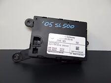 2005 MERCEDES SL500R R230 CONTROL GATEWAY MODULE, 2204452000