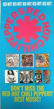 RARE RED HOT CHILI PEPPERS HITS 1992 VINTAGE MUSIC RECORD STORE PROMO POSTER