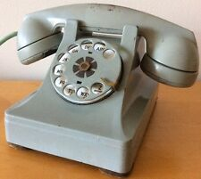 1940s Northern Electric Metal Rotary Phone – Pale Blue - Made in Canada Untested