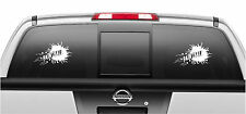 PAINTBALL Decal Sticker Auto Truck Window Vinyl Decal Stickers SET OF 2
