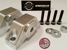 StreetRays D15 D16 B16 B18 B20 BILLET FULL SOLID ENGINE MOTOR TORQUE MOUNT KIT