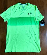 NIKE Federer Tennis 2015 AO open Crew polo nadal SZ:Large with customizations.