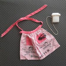 Vintage BARBIE BABY SITS #953 PINK STRIPE APRON Glasses White TELEPHONE Tagged