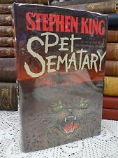 Pet Sematary by Stephen King ~ FIRST EDITION STATED ~ 1983 Hardcover ~ Cemetery