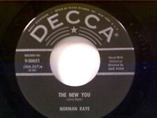"""NORMAN KAYE TRIO """"THE NEW YOU / IT ALL COMES BACK TO ME NOW"""" 45"""
