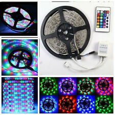 Boat Accent Light WaterProof LED Lighting Strip RV SMD 3528 300 LEDs 16 ft RGB