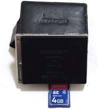 Cowon iAUDIO D2 Black 16GB Digital Media Player Plus SD Card 4GB No Tested
