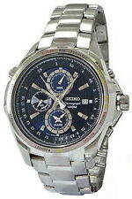 Seiko Criteria Flight Master Alarm Chronograph Men's Watch SNAD65P1