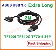 3M USB Charger Data Adapter Cable for Asus Vivo Tab RT TF810c TF600  TF701T
