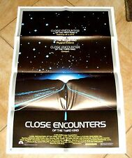 ORIG 1977 CLOSE ENCOUNTERS OF THE THIRD KIND - MOVIE POSTER - SCARCE 23 X 35