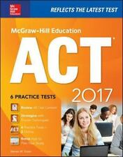 McGraw-Hill Education ACT 2017 Edition by Steven Dulan (2016, Paperback)