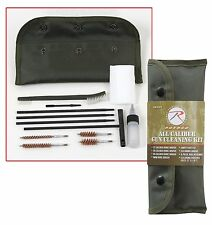 gun cleaning set all caliber kit with storage pouch rothco 2819