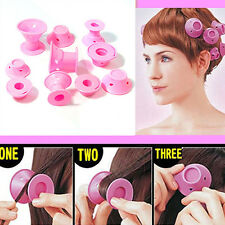 10 Pcs Soft Hair DIY Roll Style Roller Hair Curler Styling Care Tool Spirited
