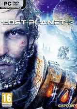 Computer PC game Lost Planet 3 III DVD shipping NEW