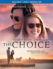 The Choice (Blu-ray/DVD, 2016, 2-Disc Set)