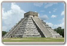 Chichen Itza Mexico Fridge Magnet 01
