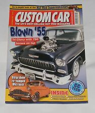 CUSTOM CAR MAGAZINE OCTOBER 2007 BLOWN '55 TRI-CHEVY WITH 750 HORSES ON TAP