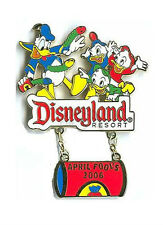 DONALD DUCK & NEPHEWS APRIL FOOL'S DAY 2006 PIN Disney Disneyland Limited LE NEW