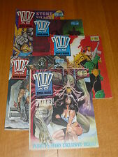 2000 AD Comic - 5 PROG JOB LOT - Progs 560 too 564 Inclusive - UK Paper Comic