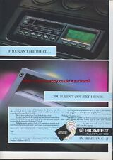 Pioneer Multiplay CD In Home/Car 1988 Magazine Advert #2635