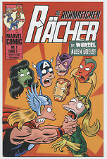 DIE RÄCHER / SIMPSONS / BILL MORRISON # 1 - COMIC ACTION 2007 - TOP