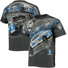 Dale Earnhardt Jr  All Over Print Nationwide Insurance T- Shirt Adult  Large