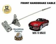 FOR MAZDA MX5 MX-5 1.8 2.0 MK3 2005--  NEW FRONT HAND BRAKE CABLE