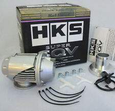 Universal HKS BOV SUPER SQV SSQV II Turbo Blow Off Valve with Adapter JDM Silver
