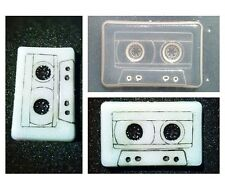 Flexible Resin Mold Music Cassette Tape