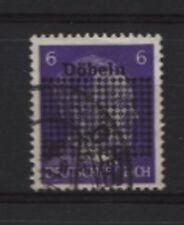 Lokalausgaben Döbeln 1a 1 a gestempelt (B02922)