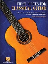 First Pieces For Classical Guitar Learn to Play EASY Beginner Music Book