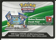 Pokemon TCG Battle Heart Tin Pikachu EX XY174 Online Code Card