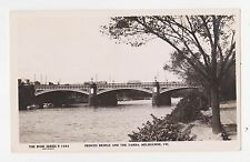 RPPC,Melbourne,Victoria,Australia,Prices Bridge & The Yarra,Rose Photo,c.1930s