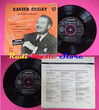 LP 45 7''XAVIER CUGAT AND ORCHESTRA Mambo no.8 mambo ay ay Anything no cd mc dvd