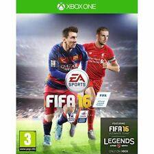 XBOX ONE - FIFA 16 INC Exclusive TEAM Legends! NEW SEALED LOOK! FAST UK POSTAGE!