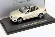 Mercedes Benz E-Klasse Cabriolet (C207) aragoni silber 1:43 Kyosho