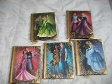 Lot of 5 Disney Fairytale Designer Collection Journals