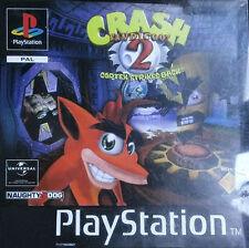 Crash Bandicoot 2: Cortex Strikes Back (Sony PlayStation 1, 1997) PAL PS1